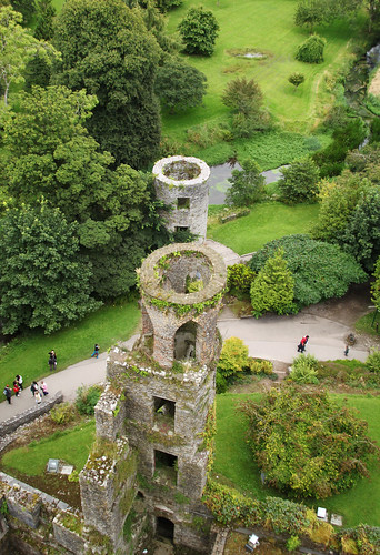 Blarney Castle Grounds View From The Top Of Blarney Castle Flickr