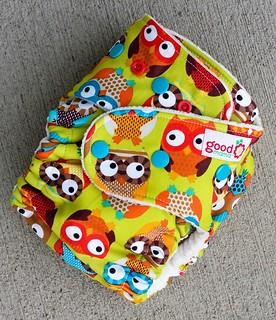 Whoo Hoo One-Size Fitted Diaper | by thegoodmama.com