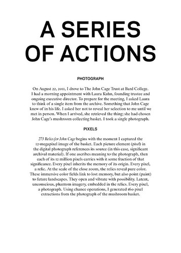 a series of actions | by Paul Soulellis