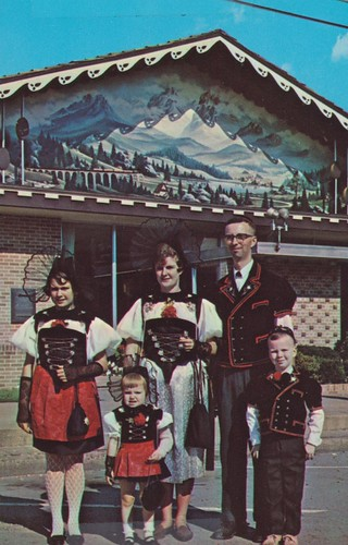 Swiss Family - Sugarcreek, Ohio | by The Cardboard America Archives