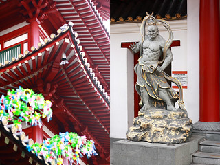 Chinatown Temple and Statue | by Xiaolu // 6 Bittersweets