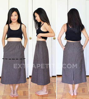thriftedskirt | by ExtraPetite.com