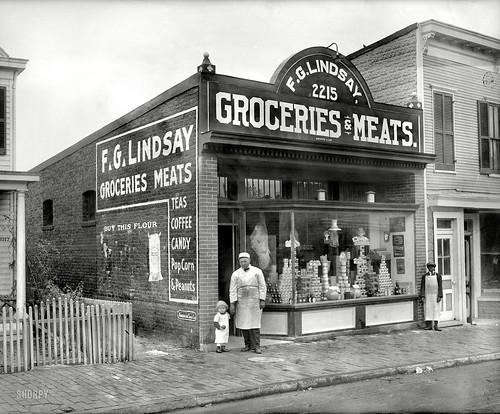 """F.G. Lindsay store front, Anacostia, 2215 Nichols Avenue"