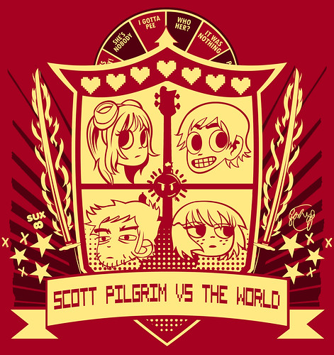 Scott Pilgrim Crest | by Tom Trager