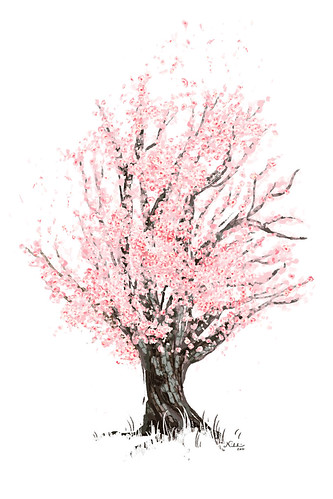 Commission - Cherry Tree | by nikkiritmeijer