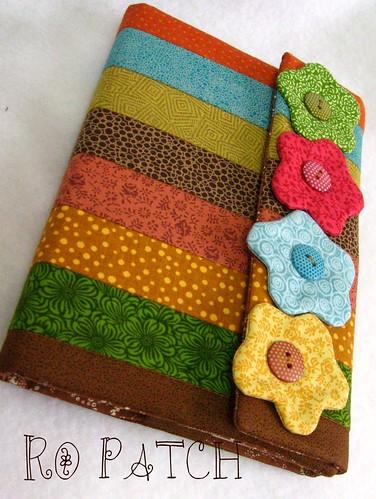 Book Cover Handmade Quilts : Capa de agenda livro ou