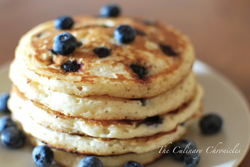 Fresh Blueberry Pancakes | by The Culinary Chronicles