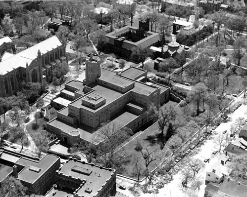 Aerial- Front Campus (Middle-west or east) | by Mudd Manuscript Library