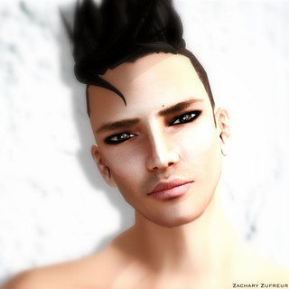 Zachary Zufreur for ! Face Paint | by Zuffie Zufreur