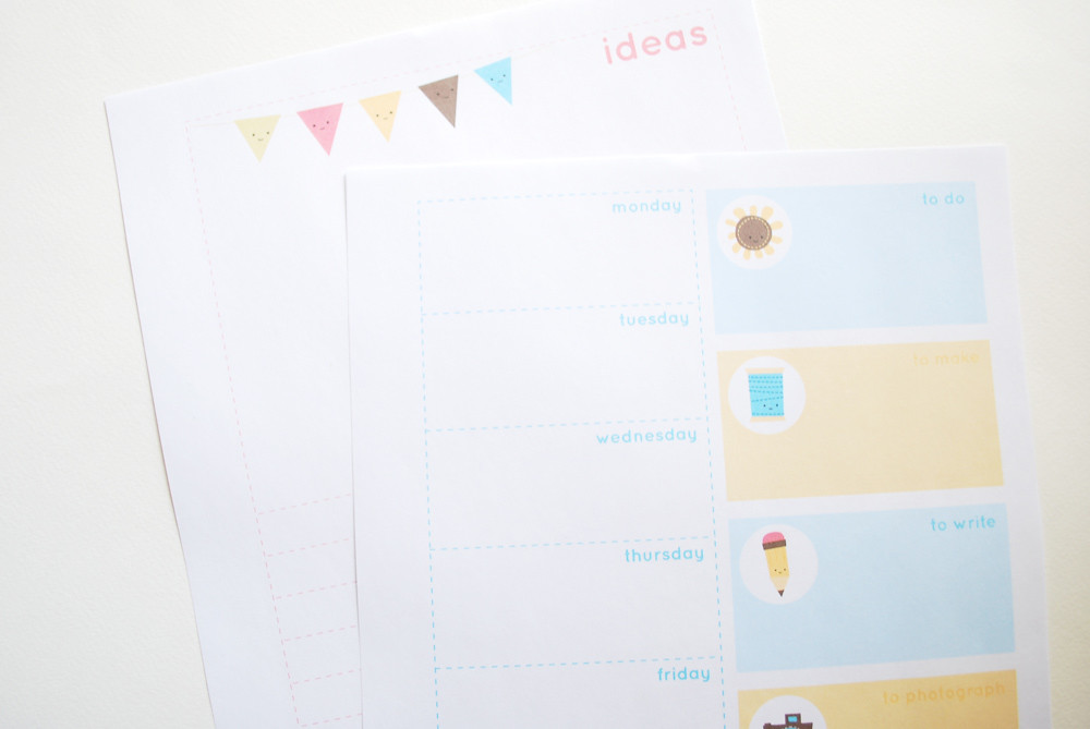 Blog Buddies Planner Pages