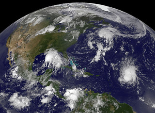 NASA Watching Atlantic Tropics: Katia, Tropical Storm Lee and System 94L [detail view] | by NASA Goddard Photo and Video