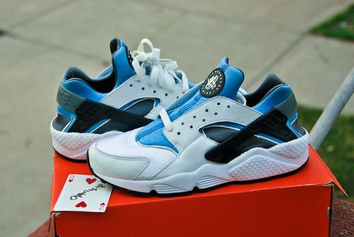 Nike Air Huarache Women S Shoe Black Black