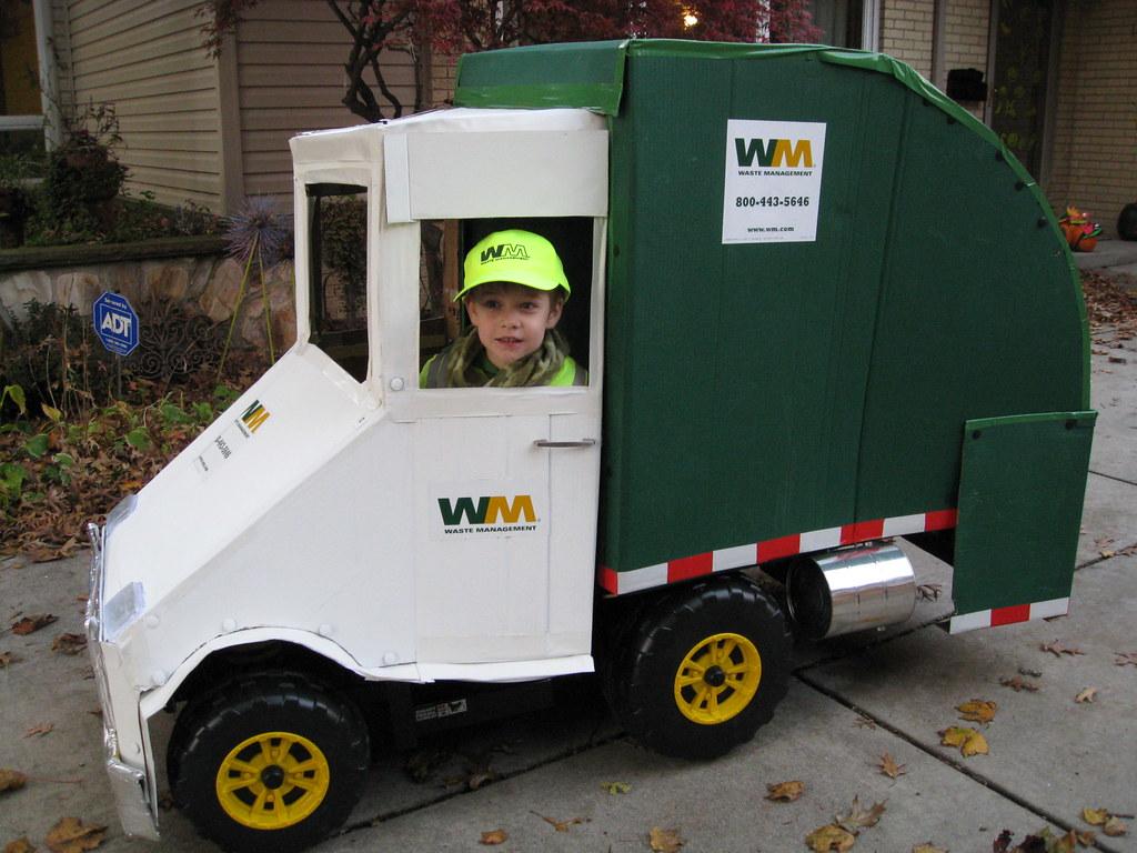 Incredible Cardboard Garbage Truck Flickr