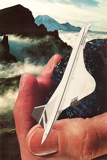 Paper Plane | by collageartbyjesse