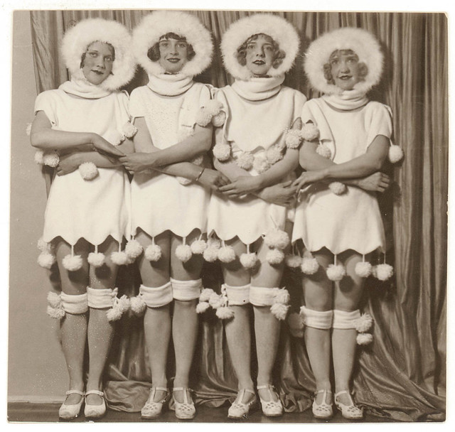 Chorus girls, 192- / Sam Hood