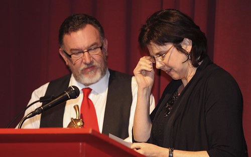 BAF Awards Ceremony- Barry Purves and Joanna Quinn | by Nat. Media Museum