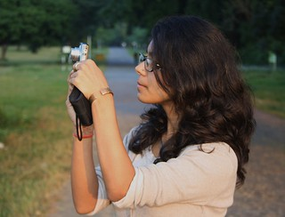 A girl with a camera ! | by Bhavna Sayana