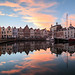 Goes, inner harbour, the Netherlands