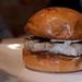 Bacon-Wrapped Scallop Burger