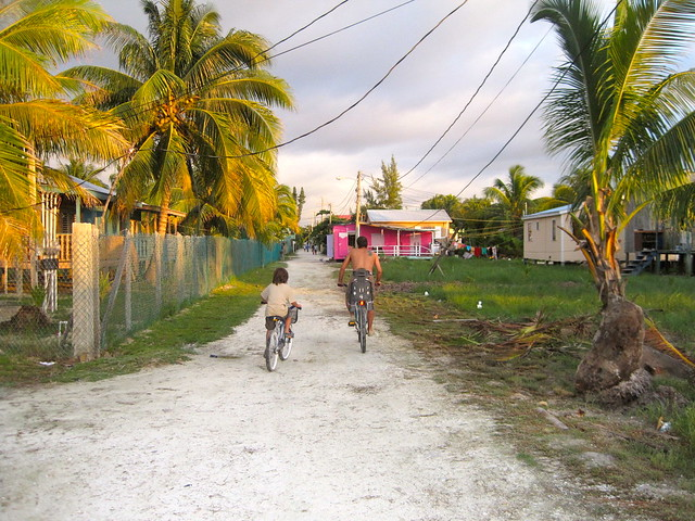 Bike Rentals - biking around caye caulker belize