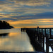 30 - Bowman Bay Dock and Sunset