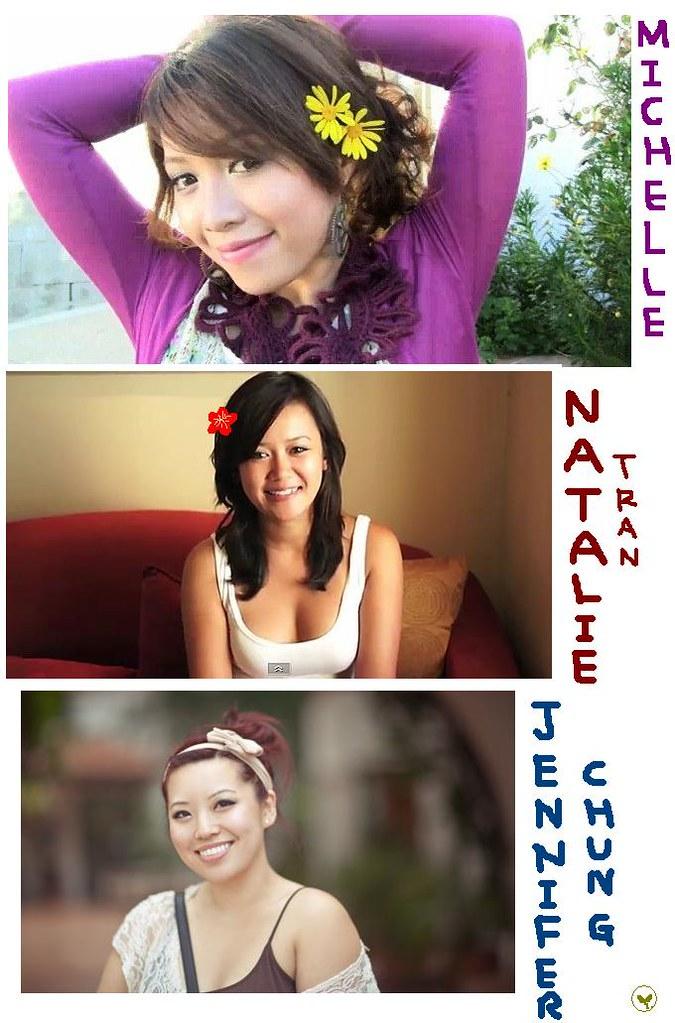 Miss Youtube: Michelle Phan,Natalie Tran, Jennifer Chung