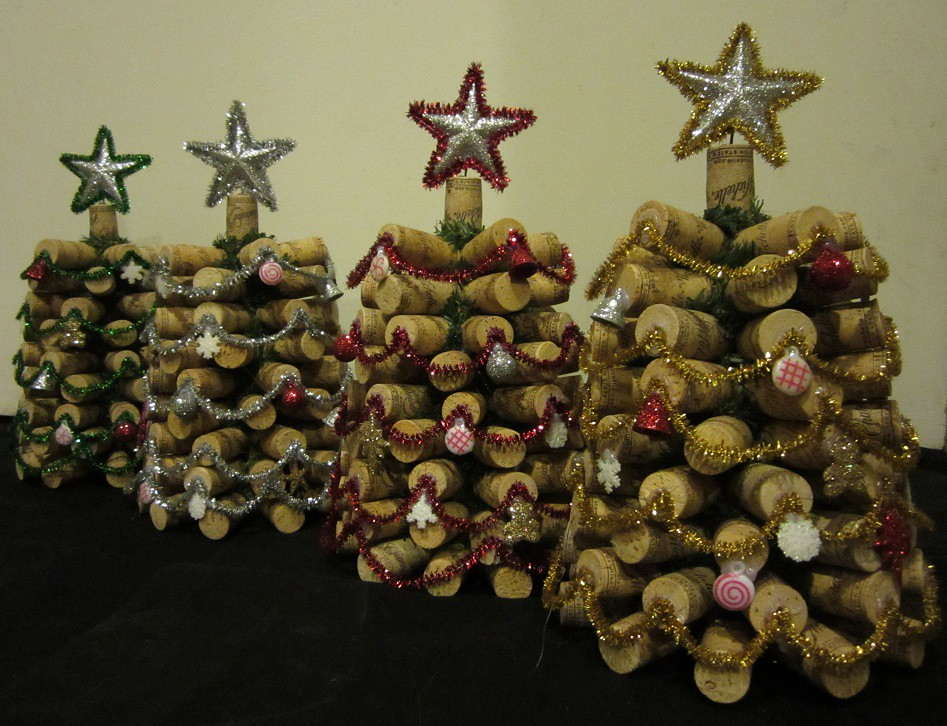 Wine Cork Christmas Trees | Wine Cork Christmas Trees