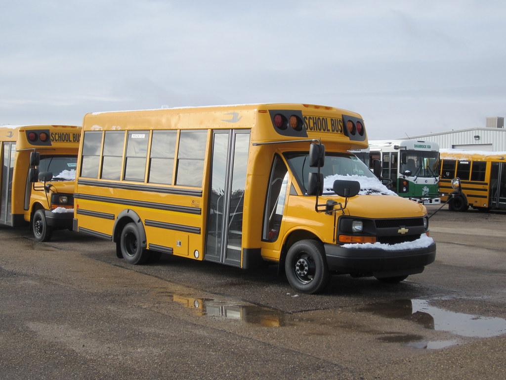 Blue Bird Bus >> Blue Bird Micro Bird by Girardin School Bus | A brand new ...