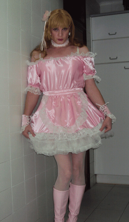 Pink sissy maid | Felicia Colette | Flickr