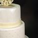White/Ivory Wedding Cake.