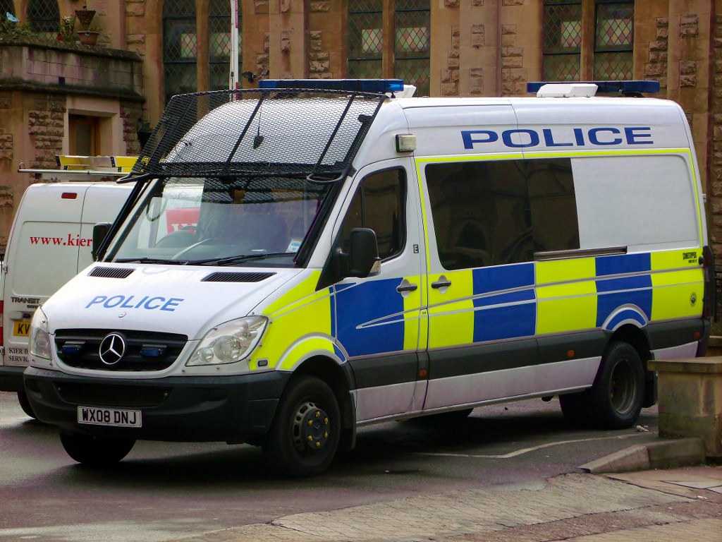 Avon And Somerset Police Mercedes Sprinter Public Order Va