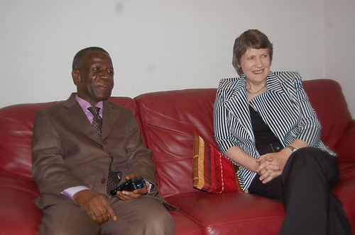 Helen Clark in Guinea | by United Nations Development Programme