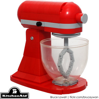 LEGO KitchenAid Tilt-Head Stand Mixer | by bruceywan