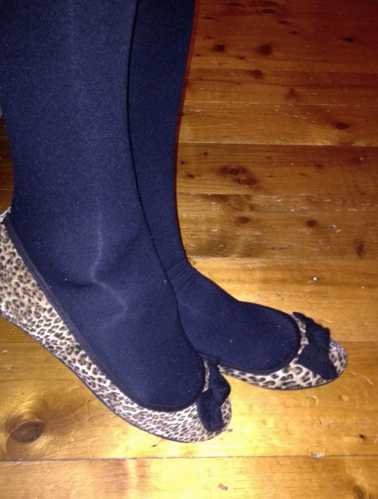 leopardprint ballerina flats from penneys shuzzzthing