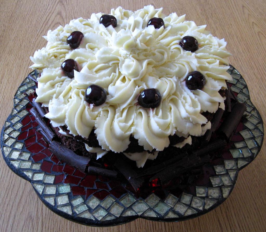 Chocolate Italian Cream Cake From Cake Mix