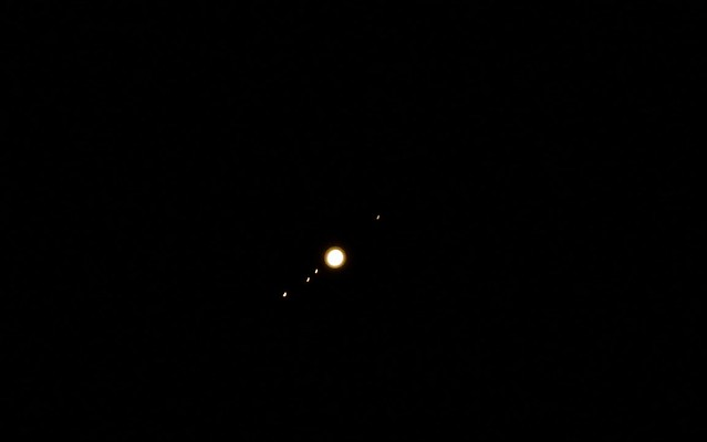 jupiter and moons through telescope - photo #20