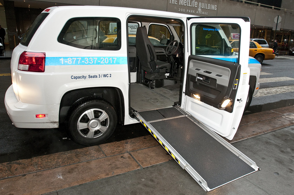 NYCT_0945 | The MTA has purchased 30 new MV-1 vans for use ...