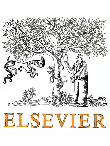 Boycott Elsevier | by giulia.forsythe