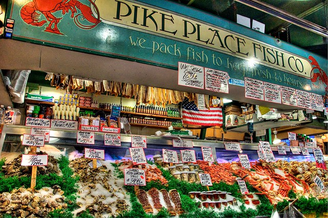 Pike place fish co flickr photo sharing for Pike place fish