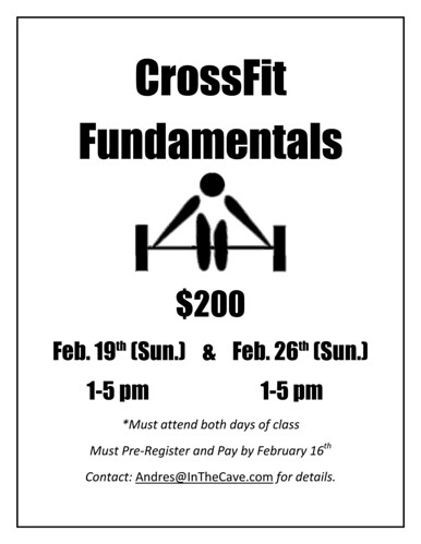 Crossfit Fundamentals_SF | by Planet Granite