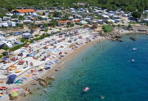 naturist camping politin island of krk croatia by valamar croatia