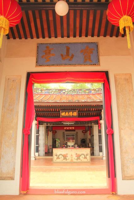 Melaka Malaysia Poh San Teng Temple