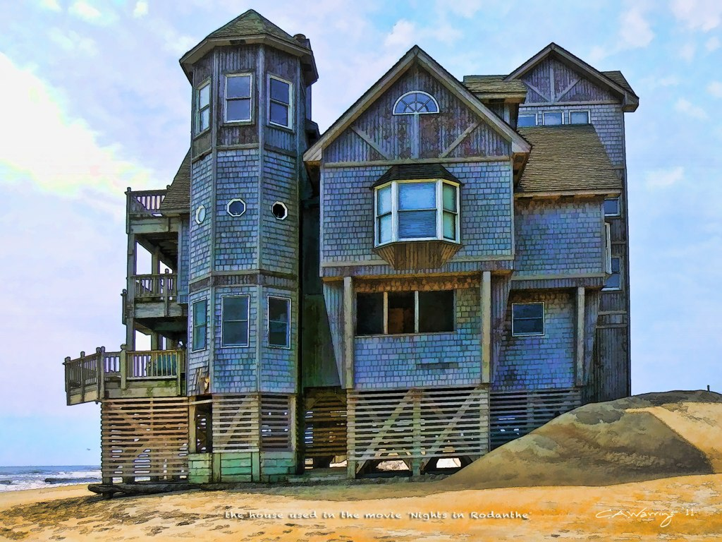 Old House Used As The Inn At Rodanthe In The Movie Nights