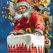 santa-in-chimney-wallpaper