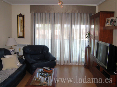 Decoraci n para salones cl sicos cortinas con dobles cort flickr - Cortinas o estores para salon ...