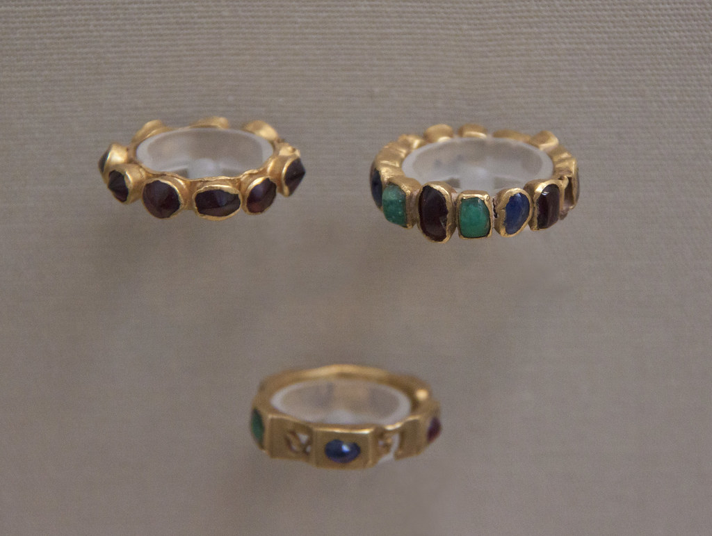 Rings With Stones For Each Son