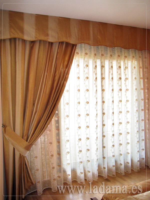 Cortinas con caidas y volante de ondas visita nuestra - Volantes de cortinas ...