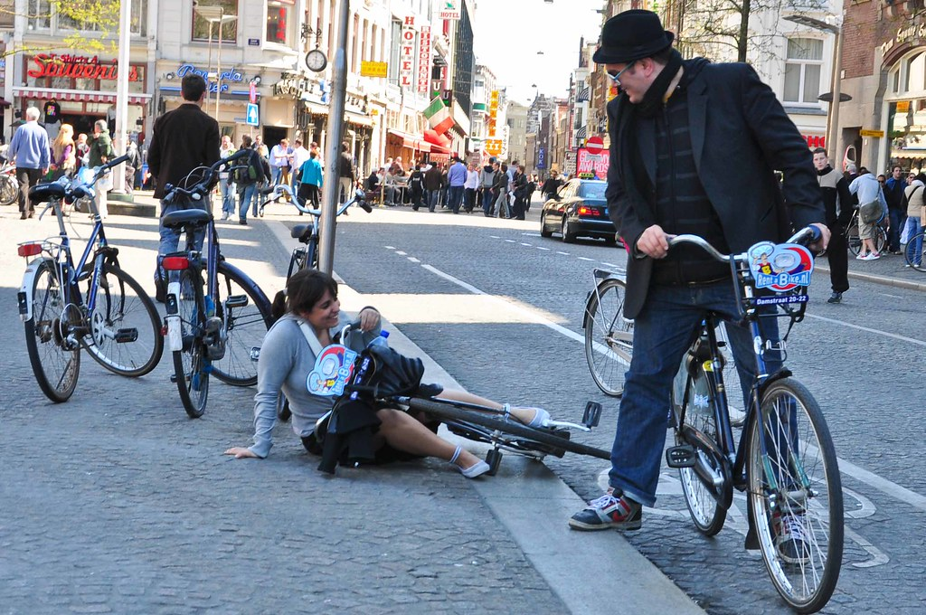 bicycle accident in Amsterdam | 105MM | Flickr