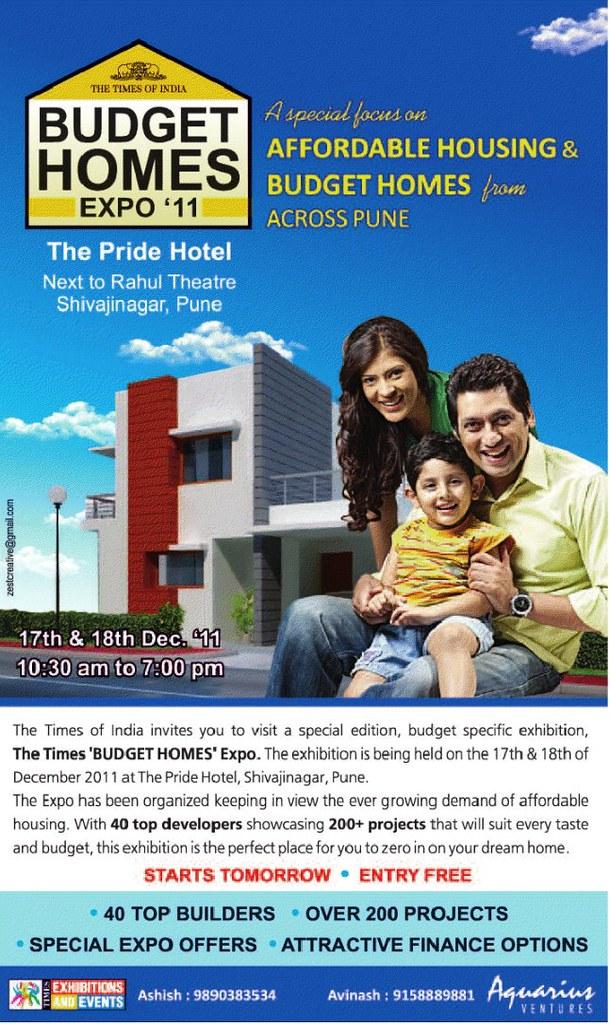 Budget Homes Expo 39 11 Toi2011 12 16 Ravi Karandeekar 39 S