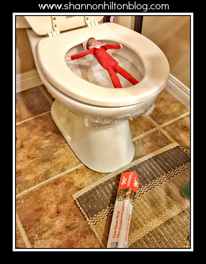 White bathroom ideas for Elf on the shelf bathroom ideas